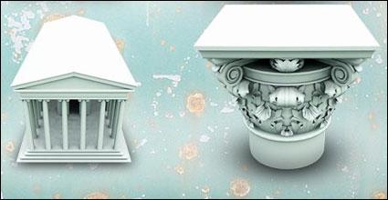 Arsitektur Yunani png ikon