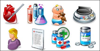 Suministros médicos icono