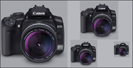 Canon 400 D Lens(PNG+Icon)