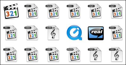 Аудиовизуальные средства массовой информации PNG икона