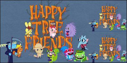 Счастливый дерево друзей