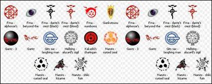 Anime varios ico