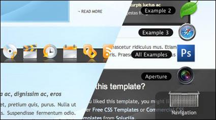 Système, une version améliorée de la classic menu