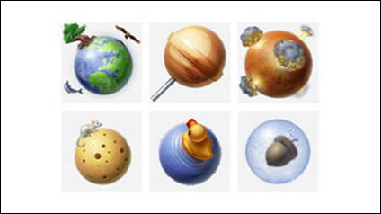 Solar System PNG-icon