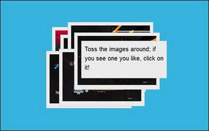 Effets d'Ajax, peut facilement glisser l'effet d'album photo