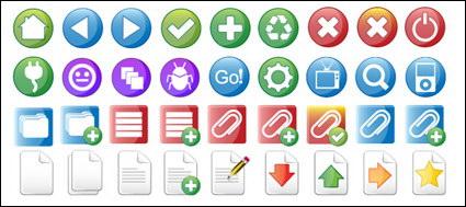 Kameo comúnmente utiliza iconos de diseño web