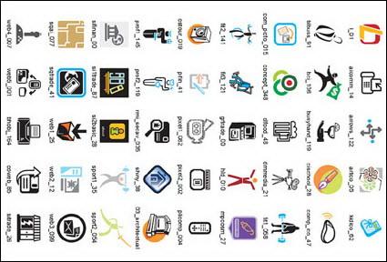 Negocio iconos Vector muestras