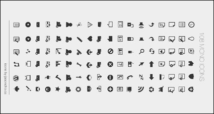 1108 simple et pratique de web design icônes png