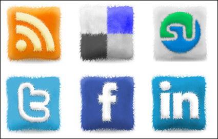 icône de Web 2.0 en peluche coussin png