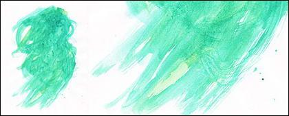 Antes da tinta aquarela imagem material-042