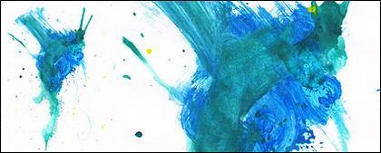 Antes da tinta aquarela imagem material-041
