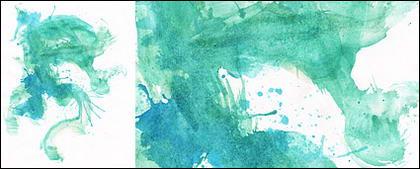Antes da tinta aquarela imagem material-040
