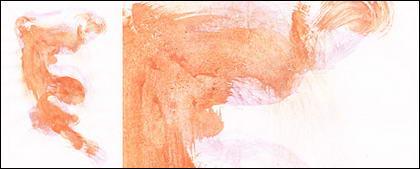 Bevor die Tinte Aquarell Bild Material-036