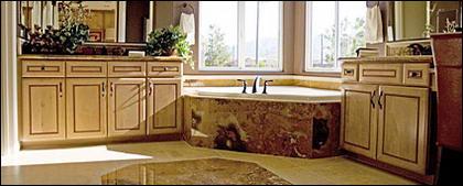 Matériel de photo de salle de bains continental style classique