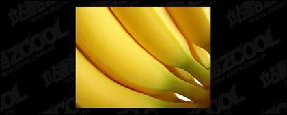 Banana destacada calidad imagen material-4