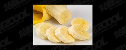 Banana destacada calidad imagen material-5