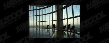 Aeroporto hall imagem material-2