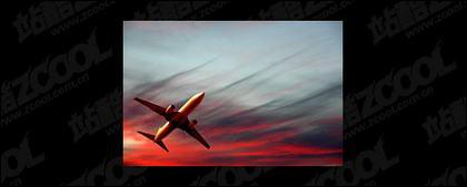 Volando aviones imagen material-3