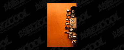 Material de imagen de portada de guitarra