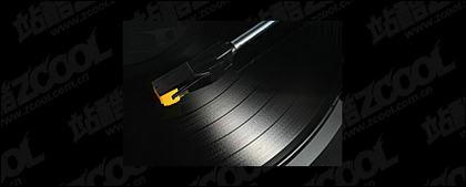 Material de imagen de disco