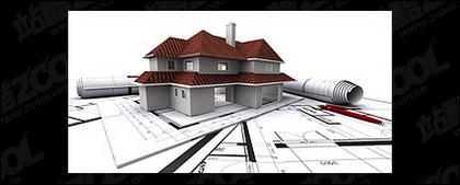 3 D の建物とフロア プラン-5