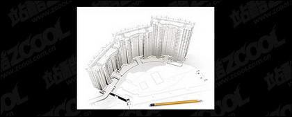 3D 건물 및 바닥 계획-6