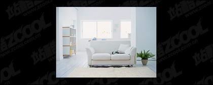 Современная гостиная бутик картины материал-5