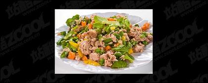 Material de imagen de calidad de deliciosos platos