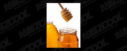 Matériel photo de miel