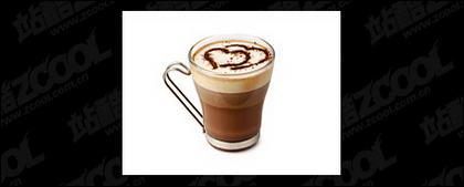한 잔의 커피 그림 자료