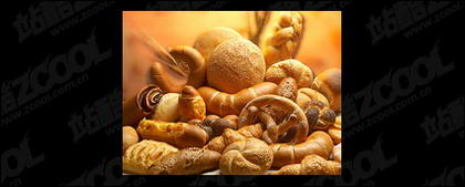 Material de imagem de qualidade do pão