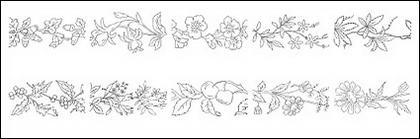 Type de fleur de dessin vectoriel diagramme-2.