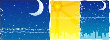 ภาพประกอบของเวกเตอร์ของความมืดและตามฤดูกาลของวัสดุ