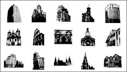 Allez Media produit vectoriel matériel - architecture antique continentale