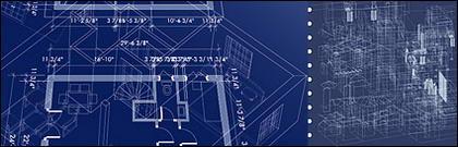 Plan d'étage intérieur en trois dimensions.