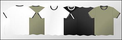 T-T-shirt matériel vecteur