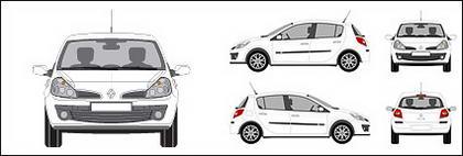 รถยนต์ Clio เรอโนล์