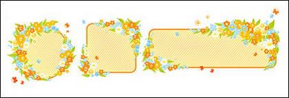 Boîte de mignonne petite fleur décorée
