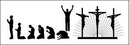 Vektor bahan agama tokoh dalam gambar