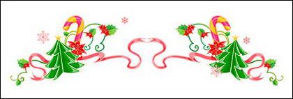 น้ำย้อยเฌอคริสต์มาสโอ่อ่าร่าเวกเตอร์วัสดุ-1