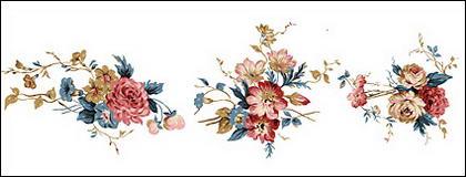 Material de psd flor de moda