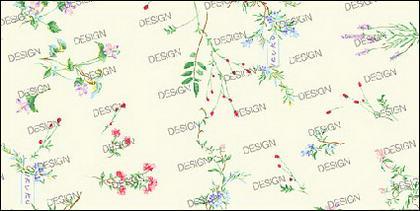Variedad de material fino pequeña flores psd