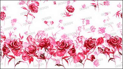 Rosas pintadas a mano
