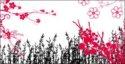 แฟชั่นดอกไม้ ลวดลาย ชุดน้ำย้อยเฌอร่า