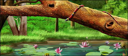 Лес lotus