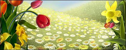 Flores e Páscoa