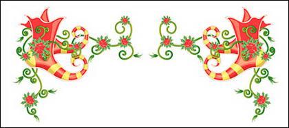 น้ำย้อยเฌอคริสต์มาสโอ่อ่าร่าเวกเตอร์วัสดุ-12