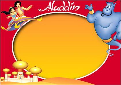 Disney-Zeichentrickfilm Rahmen Psd Material-9