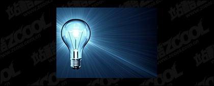 Lampu biru gambar kualitas bahan-2