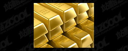 Material de calidad de imagen de lingotes de oro -3